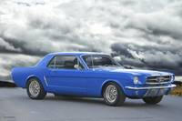 1965 Ford Mustang 'Blue Coupe' II