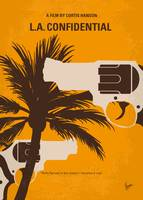 No866 My LA Confidential minimal movie poster