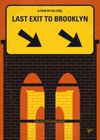 No879 My Last Exit to Brooklyn minimal movie poste