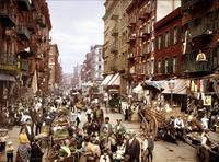 Mulberry Street, on the Lower East Side, circa 190