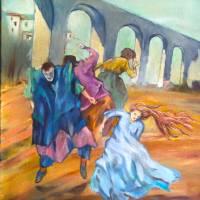 Recalling De Chirico Art Prints & Posters by andrew raputo