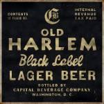 Old Harlem Lager Beer vintage advertisment Prints & Posters