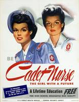 Vintage Cadet Nurse Corps Education