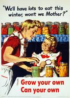 Vintage World War II Gardening and Canning
