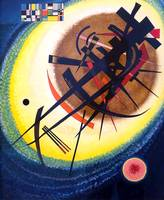 Wassily Kandinsky In the Bright Oval