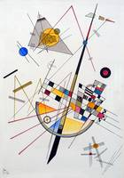 Wassily Kandinsky Delicate Tension