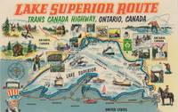 Vintage Lake Superior Ontario Canada Travel