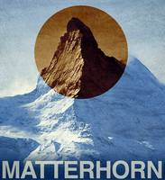 Vintage Matterhorn Switzerland Travel
