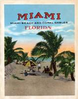 Vintage Miami and Coral Gables Florida Travel