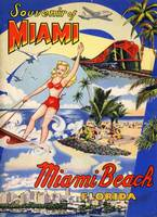 Vintage Miami Beach Florida Travel