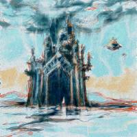 this castle will fall Art Prints & Posters by Alexandra Cook