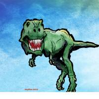 Tyrannosaurus Art Prints & Posters by Bret Taylor