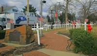 Memorial in Freehold, New Jersey
