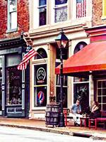 Fredericksburg VA - Outdoor Cafe