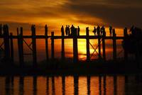 U Bein Bridge, Myanmar