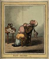 James Gillray Art Framed Print