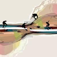 Skateboarding Art Art Prints & Posters by Nina Bradica