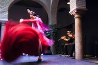 Seville-Flamenco dancer