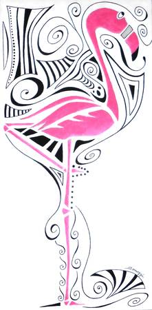Fanciful Flamingo