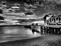 Penarth Pier, Vale of Glamorgan, South Wales
