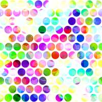 Watercolor Polka Dots