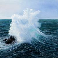 Ocean waves Art Prints & Posters by Boyan Dimitrov