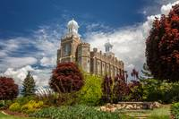 Logan Utah LDS Temple