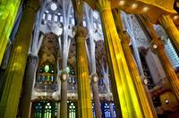 The Colors Of La Sagrada Familia