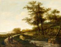 PIETER JANSZ VAN ASCH ATTRIBUTED TO, LANDSCAPE WIT