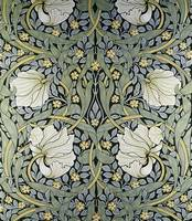 Pimpernel' wallpaper design by William Morris