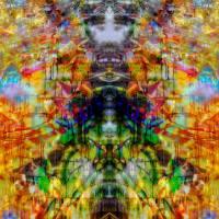Baal sits on Wooden Clown Head god Art Prints & Posters by Nawfal Johnson Nur