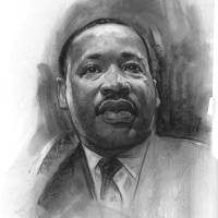 """Martin Luther King"" by JamesGoodridge"