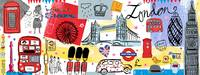 London, UK, by Farida Zaman by They Draw & Cook & Travel