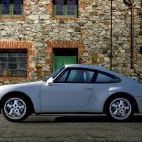 1995 Porsche 911 Carrera 'Profile' Art Prints & Posters by Dave Koontz