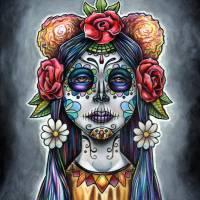 Dia de los Muertos Art Prints & Posters by Bryan Collins