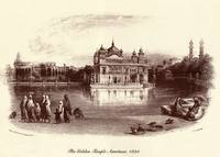 Golden Temple Etching
