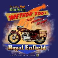 Royal Enfield Meteor 700 Motorcycle Advertising