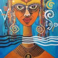 VIKINGS' QUEEN Art Prints & Posters by Hugo Sandoval