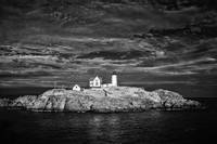 Dramatic Sky at Cape Neddick Light