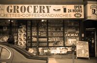 Brooklyn Storefront 2001 Sepia