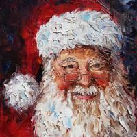"""Saint Nicholas 11x14"" by schumacherfineart"