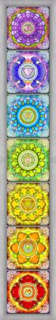 The Seven Chakras - Series 3 Artwork 2.2.1