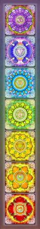 The Seven Chakras - Series 3 Artwork 2.1.1
