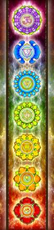 The Seven Chakras - Series 3 Artwork 1.1
