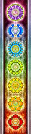The Seven Chakras - Series 1 Artwork SE.1