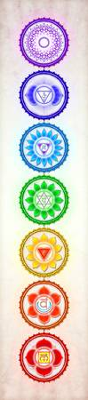The Seven Chakras - Series 1 Artwork 1 Gg.1
