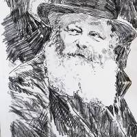 """""Rebbe"" by Leviticus Fine Art"" by buddakats1"