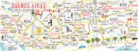 Buenos Aires Food Map by Anna Mendes by They Draw & Cook & Travel