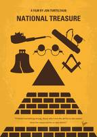 No887 My National Treasure minimal movie poster