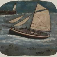 """Alfred Wallis Art Framed Print"" by buddakats1"